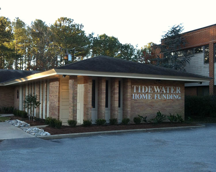 Tidewater home funding opens new office in virginia beach for Tidewater homes llc