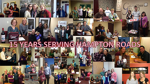 15 Years Serving Hampton Roads
