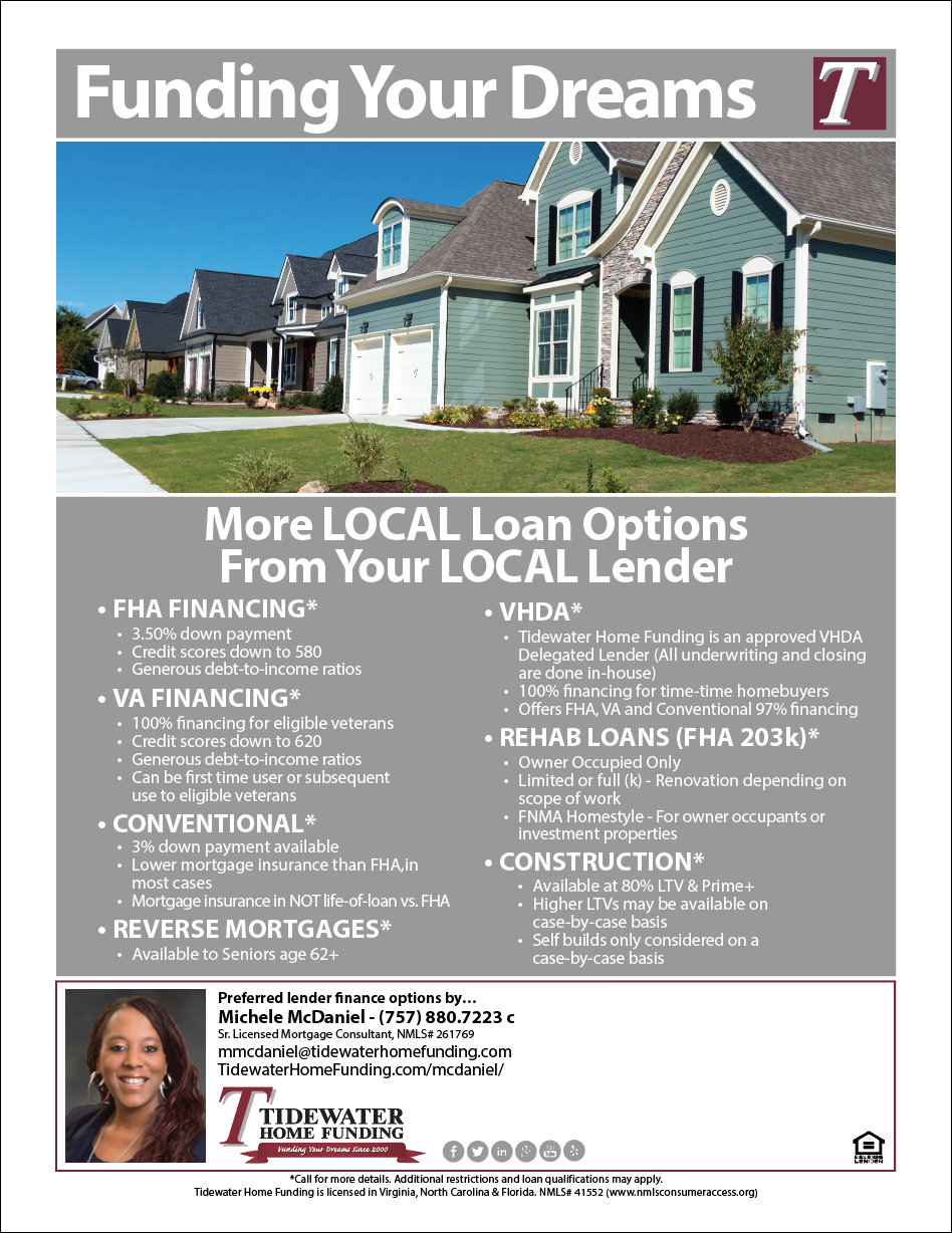 More Local Loan Options